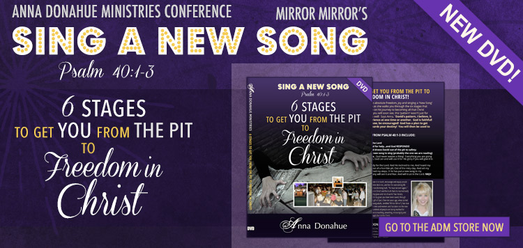 Sing a New Song DVD 6 Stages to get You from The Pit to Freedom in Christ
