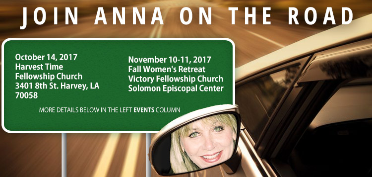 Join Anna on the Road!